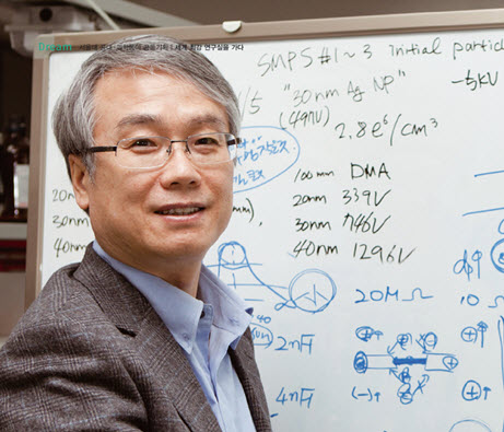 Professor CHOI Mansoo developed a highly acute sensor inspired by spider legs