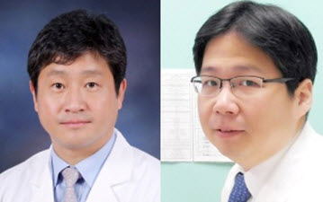 Professors YOON Jung-Hwan and Lee Jeong-Hoon