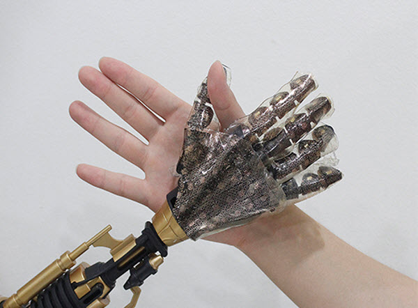 "This ""smart skin"" is the first synthetic skin that is actually capable of reproducing the sense of touching real human skin."