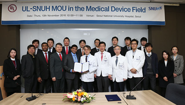 UL-SNUH MOU in the Medical Device Field