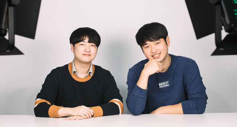 Founders of YouTube Channel Studio Sha: Ryu Seo-hwan (Department of Design), Park Jeong-won (Department of Civil and Environmental Engineering)